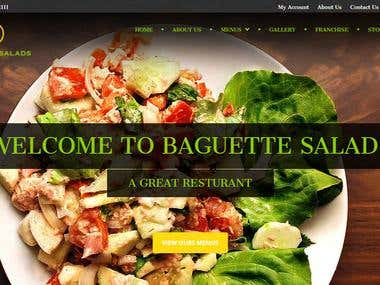 Restaurant Website with Online order and delivery functions