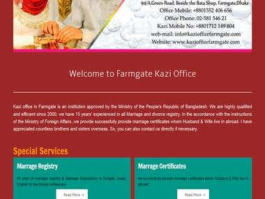 marriage advocacy center(Kazi Office) website