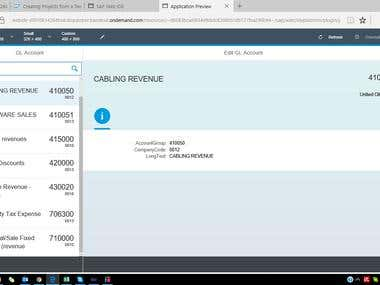 Fiori App of SAP FI
