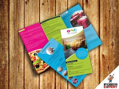 A4 Tri-fold Brochure design