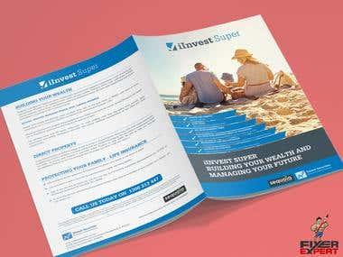 A4 Bi-Fold Brochure.