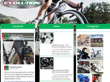 Cycle-Evolution Wordpress Project