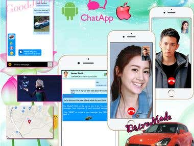 May - Chatting App with DriveMode & Photo Edit
