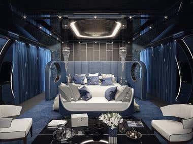 Elite Jet Interior