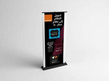 Orange mobile provider roll-up