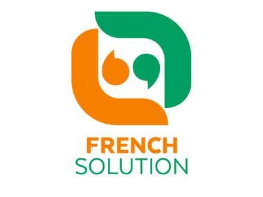 French Solution Company Logo