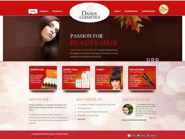 DanDe Cosmetics Brazilian Keratin Treatment Straightening
