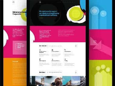 Estmrarya web design