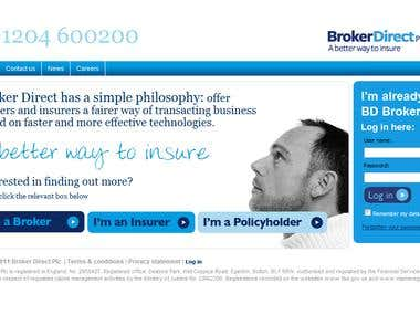 Broker Direct Insurance Site