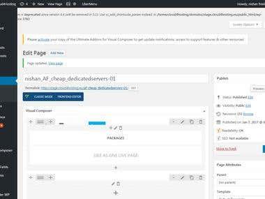 cloud4hosting ( PSD to Visual composer/VC)
