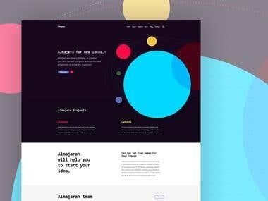 Almajarra web design