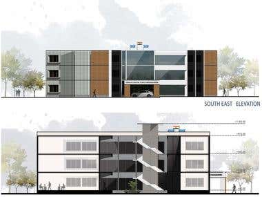 Elevation Drawing and Rendering