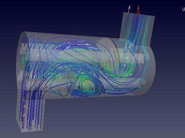 Shell and Tube Heat Exchanger with OPENFOAM