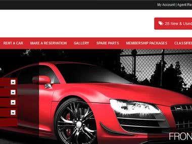 Auto Sell website