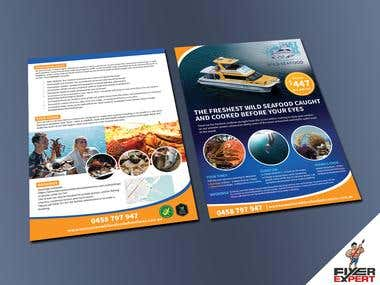 Flyer design for a Tour/Travel company.