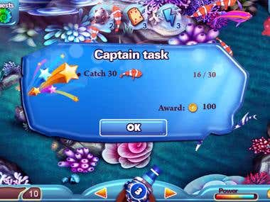 Android Game Fish Shooting