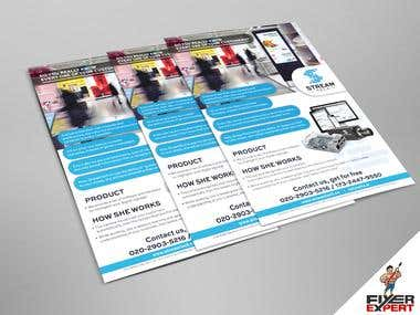 A4 flyer design