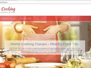 Content Writing for a Food Website