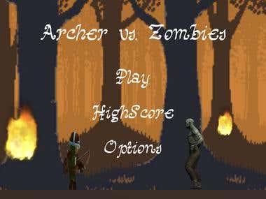 Archer vs. Zombies