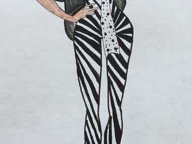 My Fashion Illustration 1