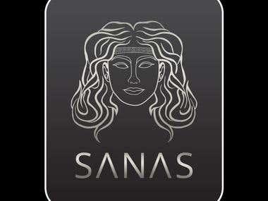 sanas luxury logo