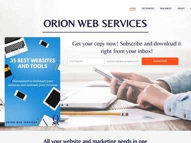 Orion Web Services