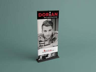 Dorian men's grooming lounge (Haircut)