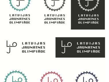 logo for Latvian youth Olympics