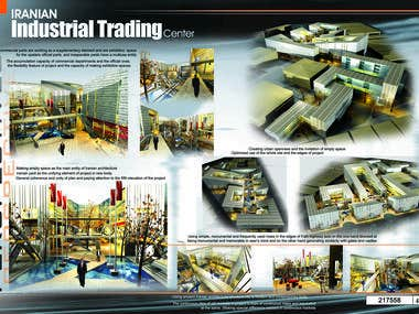 Iranian industrial trading center