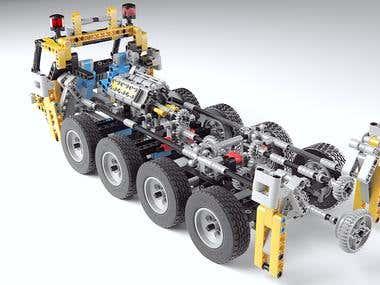Lego technic Product Visualization