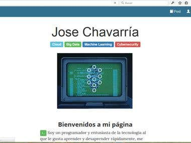 My personal CMS/Blog