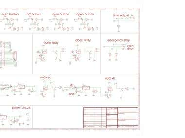 machine controller circuit ,design and pcb layout