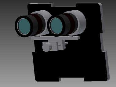 Focus system for a long view of 30x