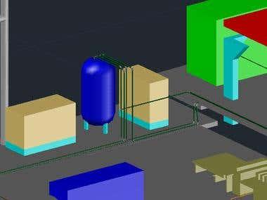 Compressed Air Distribution Circuit