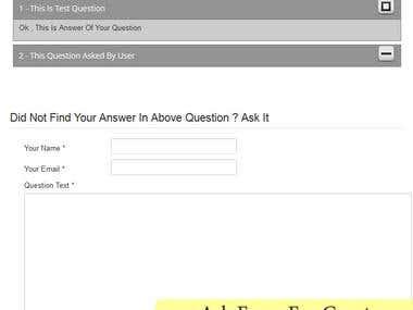 FAQ Component For Joomla