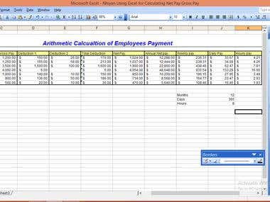 This is sample 2 of Spreadsheet.