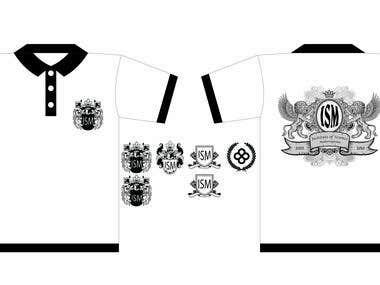 T shirt for University
