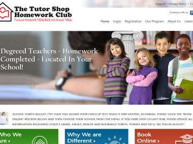 The Tutor Shop Homework Club