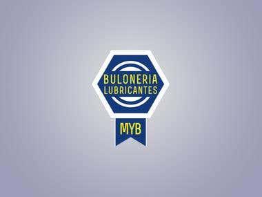 Logo MYB - Buloneria y Lubricantes.
