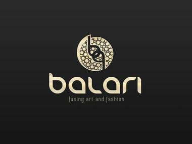 Balari logo for jewerly store
