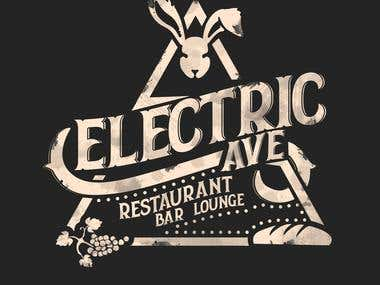 Electric restaurant logo