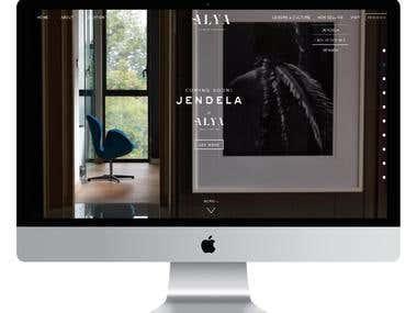 Alya - Web Design