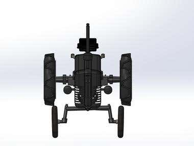 3D-tractor,,differential etc