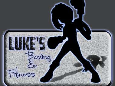 A logo for a boxing club activity