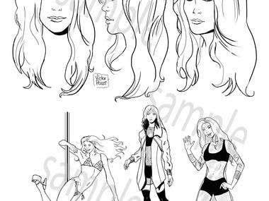 Katie - diseño de personaje