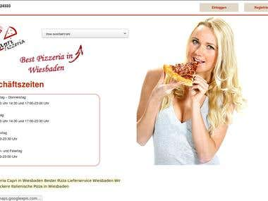 Multi Vendor online pizza service