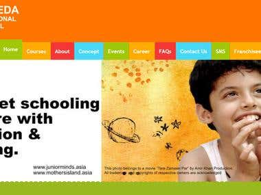 School Website(under progress)