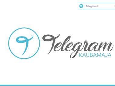Logo Telegram KAUBAMAJA
