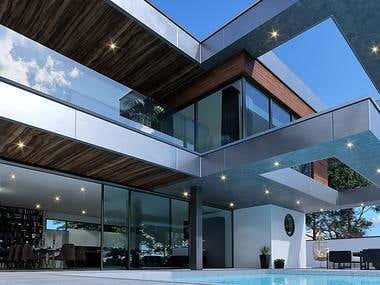 Modern Villa Virtual Tour project