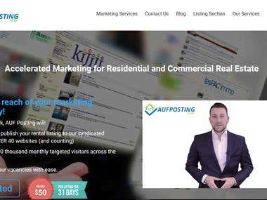 Accelerated Marketing for Residential and Realstate website